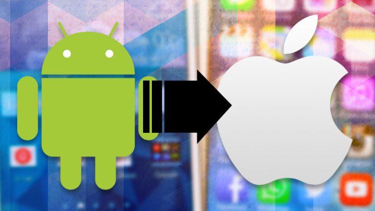 Как переключиться с телефона Android на iPhone