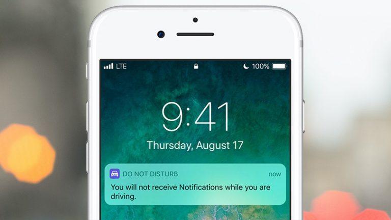 Как включить режим «Не беспокоить во время вождения» на iOS
