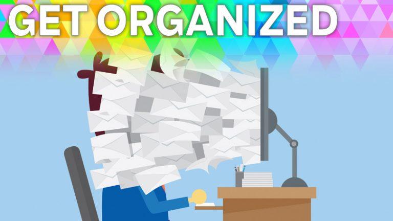Организуйтесь: прекратите борьбу с электронной почтой с помощью большего количества писем