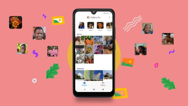 Как упорядочивать и редактировать фотографии с помощью приложения Google Gallery Go