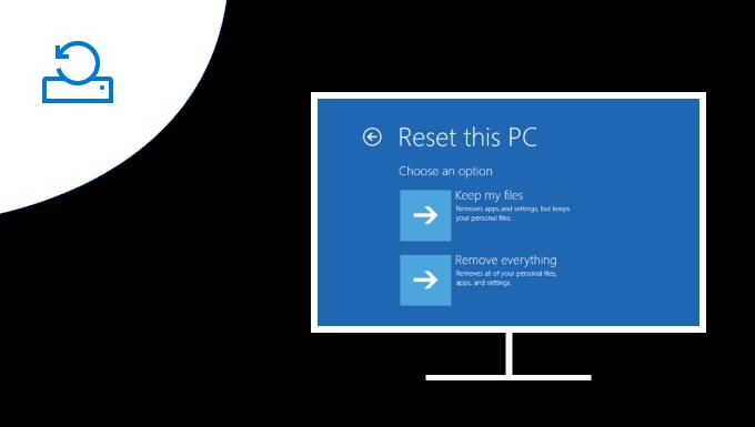Как восстановить заводские настройки ноутбука и переустановить Windows 10
