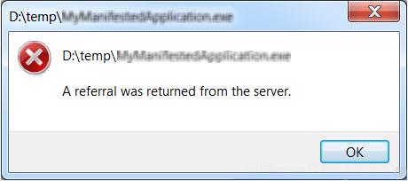 Как исправить ошибку «С сервера был возвращен переход» в Windows 10