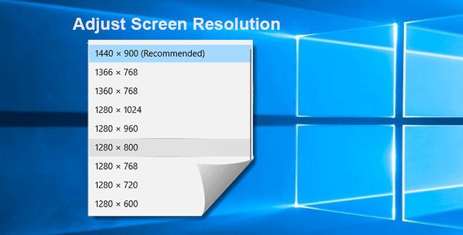 Как настроить разрешение экрана в Windows 10