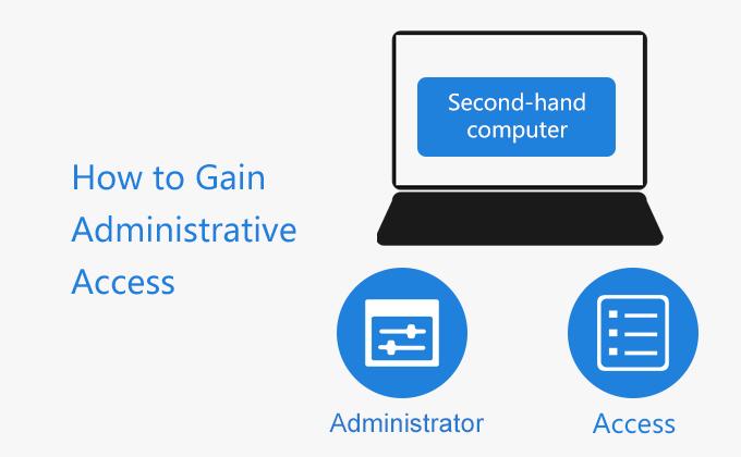Как получить административный доступ к подержанному компьютеру