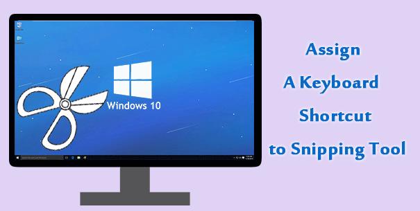 Назначьте сочетание клавиш для Snipping Tool в Windows 10