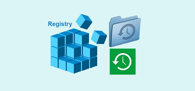 Как сделать резервную копию и восстановить реестр в Windows 10
