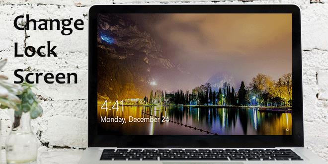Как изменить экран блокировки в Windows 10