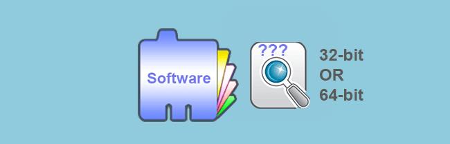 Как проверить, является ли программное обеспечение 32-битным или 64-битным