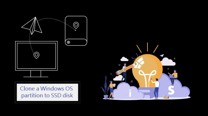 Как клонировать системный загрузочный диск Windows 10 с жесткого диска на новый SSD