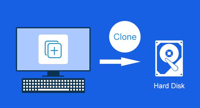Как клонировать жесткий диск на другой на настольном компьютере