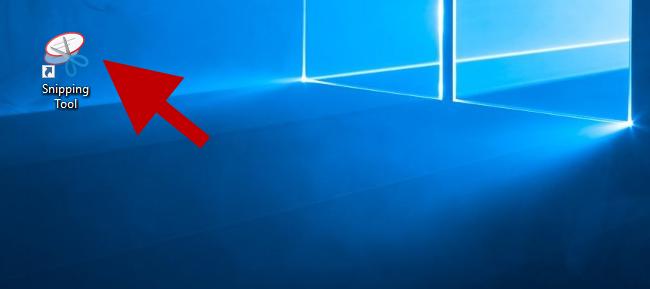 Создайте ярлык для Snipping Tool на рабочем столе Windows 10