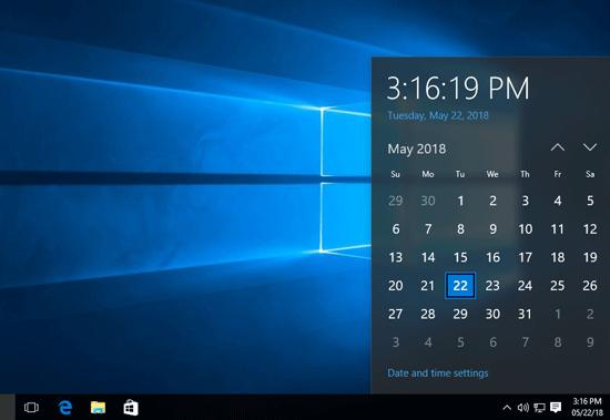 Как запретить пользователям изменять дату и время в Windows 10