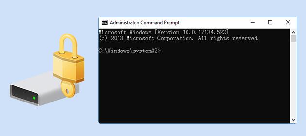 Как расшифровать диск с шифрованием BitLocker из командной строки в Windows 10