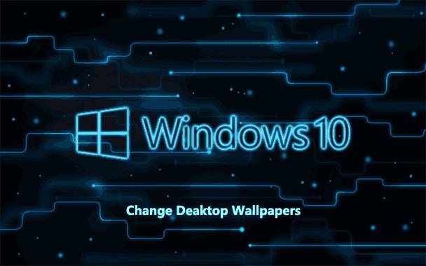 Как изменить обои рабочего стола Windows 10 без активации