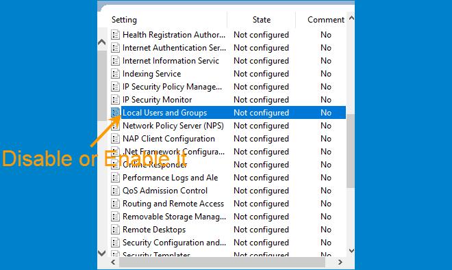 2 способа отключить или включить локальных пользователей и групп в Windows 10