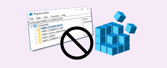 Как отключить доступ к редактору реестра в Windows 10