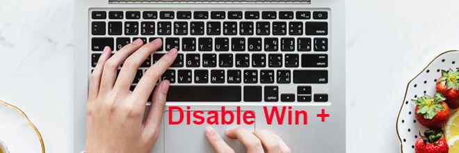 Как отключить сочетания клавиш Win + в Windows 10