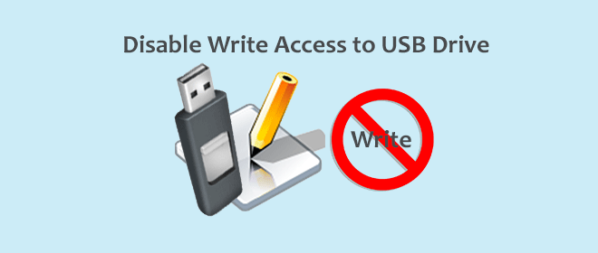 Как отключить / запретить запись на USB-накопитель в Windows 10/8/7