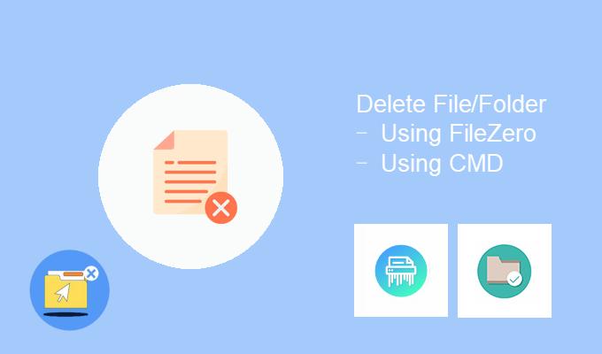 Отказано в доступе при удалении файлов или папок в Windows 10