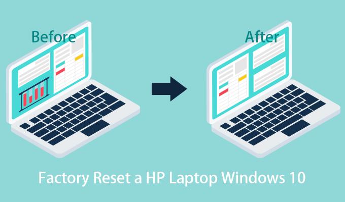 Почему и как восстановить заводские настройки ноутбука HP Windows 10