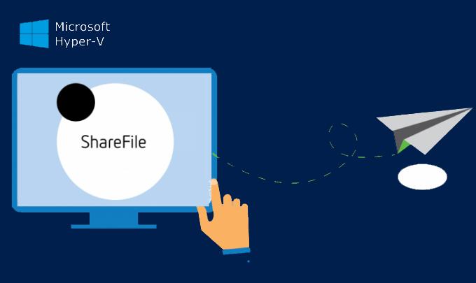 Совместное использование файлов, папок или дисков между хостом и виртуальной машиной Hyper-V