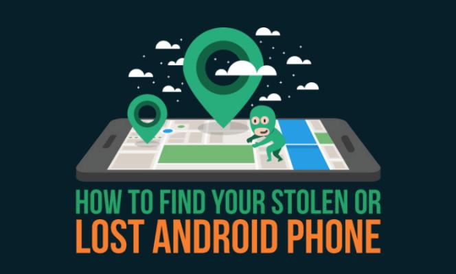 Как найти украденный или утерянный телефон Android