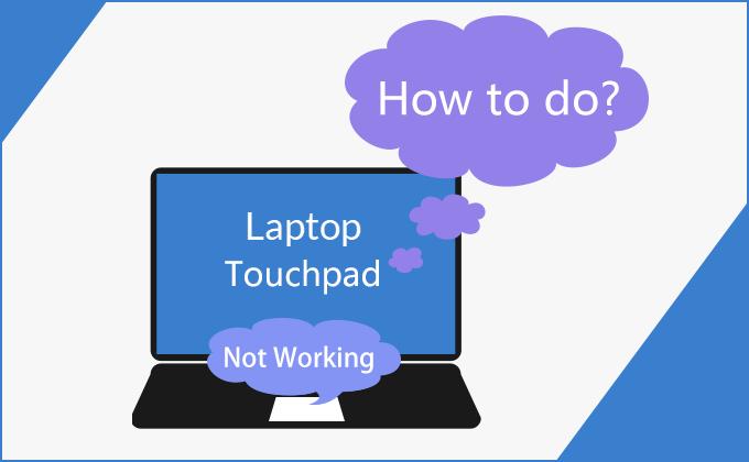 Сенсорная панель ноутбука не работает после обновления Windows 10