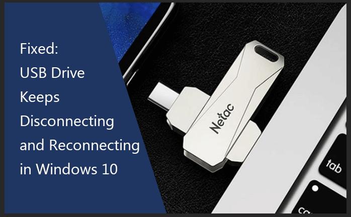 USB-накопитель продолжает отключаться и снова подключаться в Windows 10