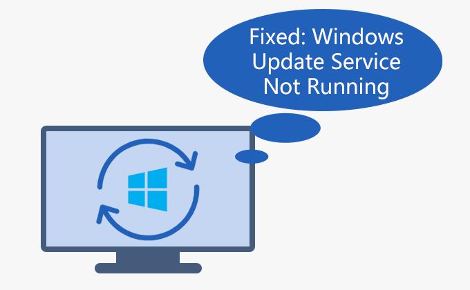Служба обновления Windows не работает в Windows 10/7