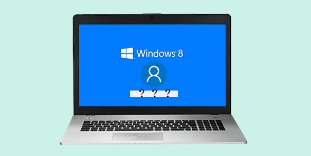 Я забыл пароль своей учетной записи Microsoft в Windows 8