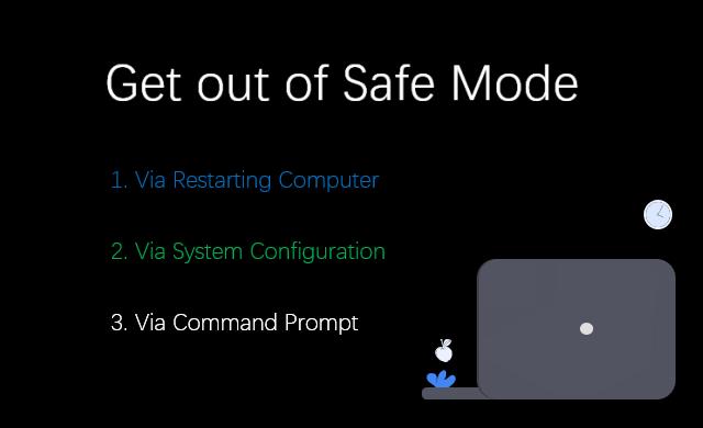3 варианта вывода моего компьютера с Windows 10 из безопасного режима