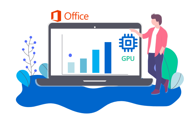Как отключить аппаратное ускорение графики в приложении MS Office
