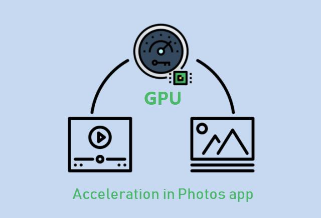 Отключите аппаратное ускорение графики в приложении Microsoft Photos