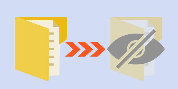 2 способа скрыть файлы и папки в Windows 10