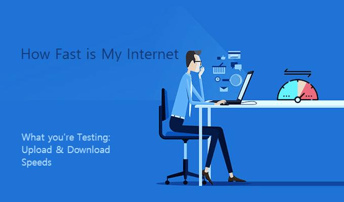 Насколько быстро у меня Интернет?  Как проверить скорость интернета?