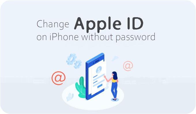Как изменить Apple ID на iPhone без пароля