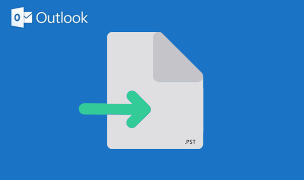 Как создать и импортировать файл .PST в Outlook 2016 для Windows