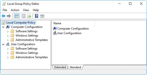 5 способов открыть редактор локальной групповой политики в Windows 10