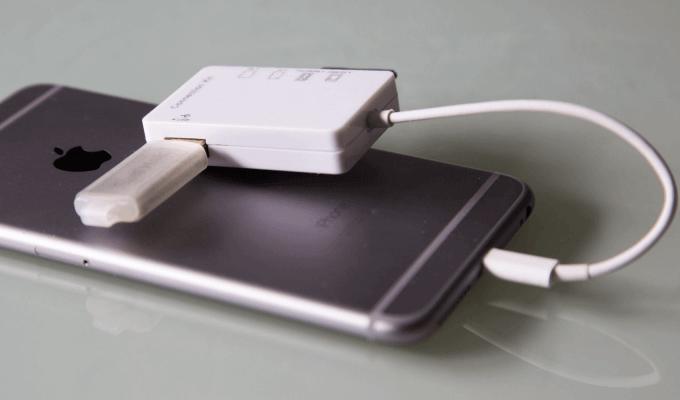 Как переместить файлы с iPhone или iPad на внешнее хранилище