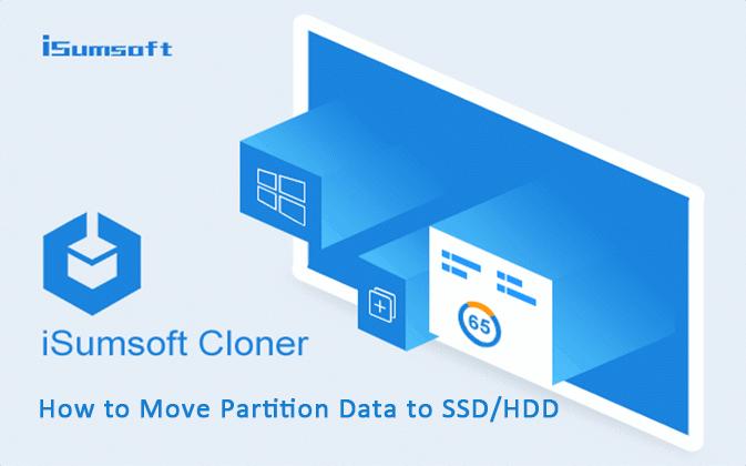 Как переместить данные раздела на SSD с жесткого диска с помощью iSumsoft Cloner