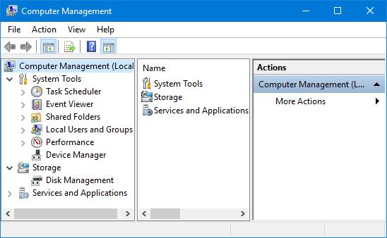 7 различных способов открыть управление компьютером в Windows 10