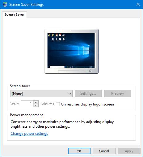 5 способов открыть настройки заставки в Windows 10