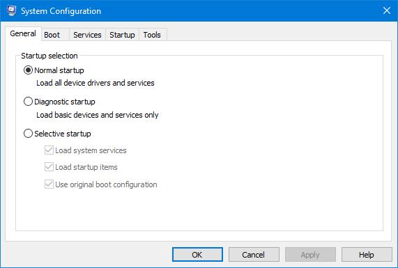 6 способов открыть приложение конфигурации системы в Windows 10/7
