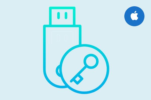 Как защитить паролем USB-накопитель на Mac без удаления данных