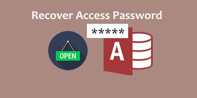 Восстановить пароль доступа, чтобы открыть базу данных, защищенную паролем