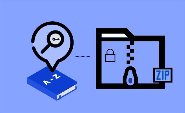 Как создать и использовать словарь для восстановления ZIP