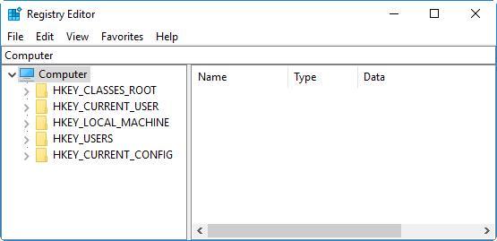 6 способов доступа к редактору реестра в Windows 10