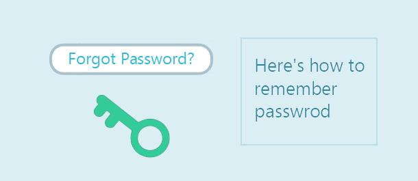 Как запомнить пароль вместо того, чтобы сбросить пароль