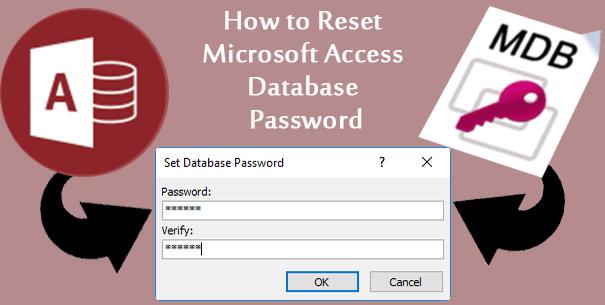 Как сбросить пароль базы данных Microsoft Access