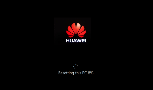 Как сбросить Huawei MateBook X Pro до заводских настроек